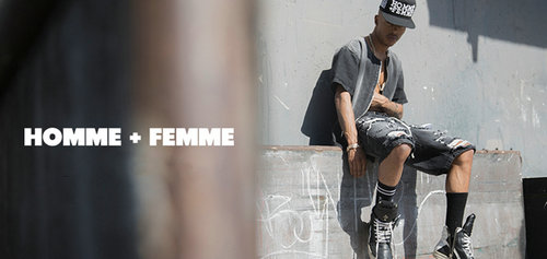 homme femme 品牌