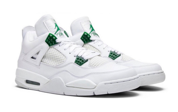 Air Jordan 4 全新白绿配色鞋款.jpg
