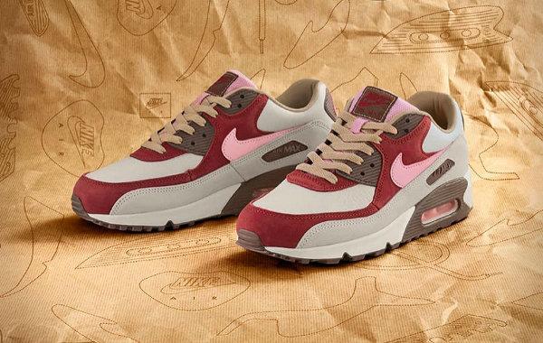 """耐克 x DQM 全新联名 Air Max 90""""Bacon""""鞋款-1.jpg"""