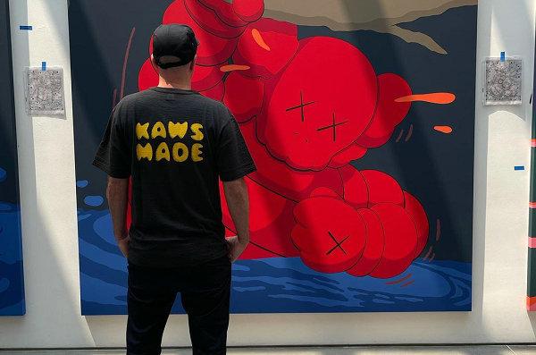KAWS x Human Made 全新联名 T-Shirt-1.jpg